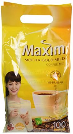 Maxim Mocha Gold Korean Instant Coffee - -- A special product just for you. Coffee Mix, Coffee Type, My Coffee, Coffee Drinks, Korean X, Korean Grocery, New Electronic Gadgets, Best Beans, Backpacking Food