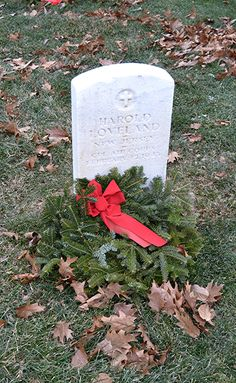 Finn's Point National Cemetery New Jersey some are up right December National Wreaths Across America Day were placed , Veterans Cemetery, Wreaths Across America, National Cemetery, New Jersey, December, Day