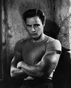 'On the Waterfront'-era Marlon Brando. Photographer: Elliott Erwitt.