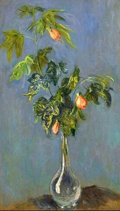 Claude Monet. Flowers in a Vase (1882).
