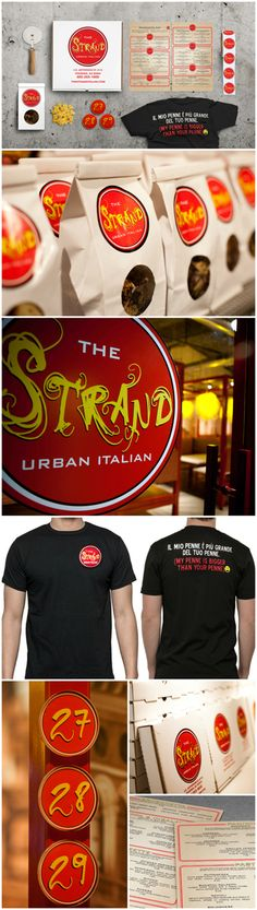 The Strand, Branding & Identity, Graphic Design, Interior Design, Design by Bar Napkin Productions, #BarNapkinProductions