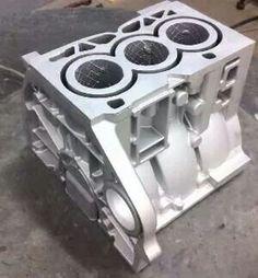 Elio Motors first engine casting,  900cc