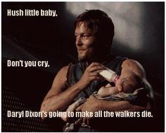 Haha! Daryl Dixon, The Walking Dead