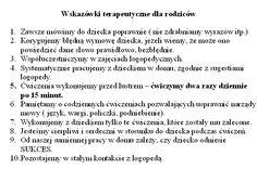 Znalezione obrazy dla zapytania wierszyki logopedyczne