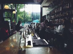 Cafe Presse on Capitol Hill - my favorite French bistro in Seattle
