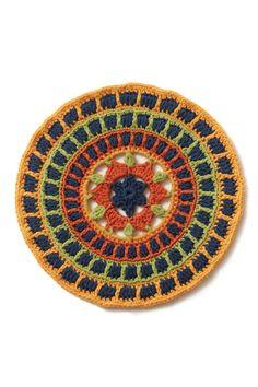 Modern Crochet Mandalas eBook: 50+ Colorful Motifs to Crochet