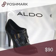 🎉ALDO Koseki size 8🎉 ALDO black size 8 heeled booties Aldo Shoes Ankle Boots & Booties