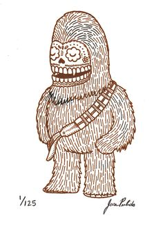 Star Wars Day of the Dead art