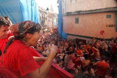 ¡10 razones para vivir en España!   | La fiesta de la Tomatina. créditos: TM