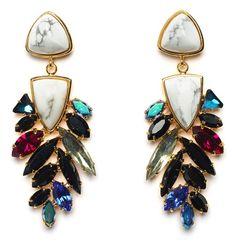 Lizzie Fortunato Jewels Marquee Earrings