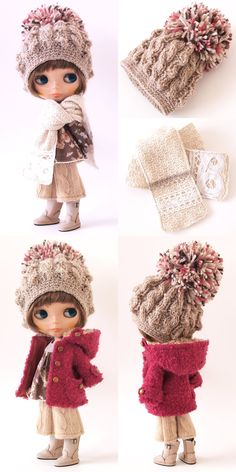 <3 this hat!!! The coat is adorable http://lucalily.exblog.jp/iv/detail/index.asp?s=15141263