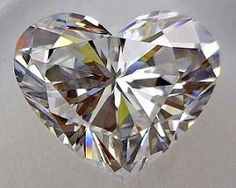 1.02-Carat Heart Cut Diamond    This Fancy-cut D-color, and IF-clarity diamond comes accompanied by a diamond grading report from GIA  $13,923.00