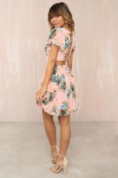 Wildly Chic Dress - Floral