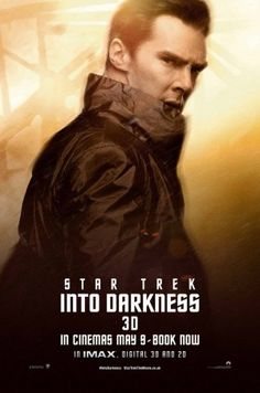 benedict cumberbatch plays khan in star trek into darkness