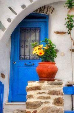 Lefkes, Paros, Greece