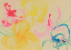 Small Paintings, Original Paintings, Original Art, Abstract Flowers, Abstract Art, Painting Flowers, Watercolor Paper, Paper Flowers, Buy Art