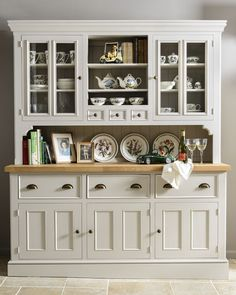 Victorian Painted Dresser From Creamery Kitchens Creamerykitchenscouk DressersKitchen IdeasDining RoomShowcase