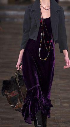 Ralph Lauren Gorgeous in Purple Velvet