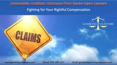 Automobile Accident Attorneys from Ganim Injury Lawyers Fighting for Your Rightful Compensation  #automobileaccidents #automobileaccidentattorneys