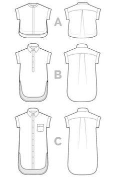 KALLE SHIRT + SHIRTDRESS PATTERN – Closet Case Patterns