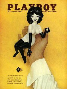 Playboy Magazine May 1963