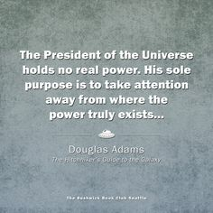 Douglas Adams and The Hitchhiker's Guide to the Galaxy
