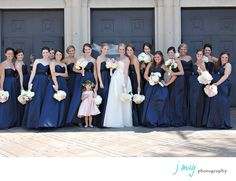 Wedding Photographer Dallas | Best Wedding Photographer Dallas | J May Photography | Jen Mabray | Blue and Pink | Bridesmaids