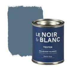 Le Noir & Blanc muurverf nuance denim blue 100 ml