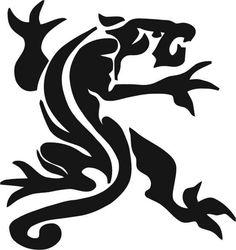 1316 - Samolepka tygr - tribal - Autosamolepky - levné auto moto tuningové auto samolepky na auta.