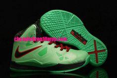wholesale dealer 03def 083de Lebron 10 Kids Lebron James Shoes 2013 Cutting Jade Gr Jade China 541100 300  Nike Kids