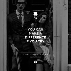 Or you be the difference