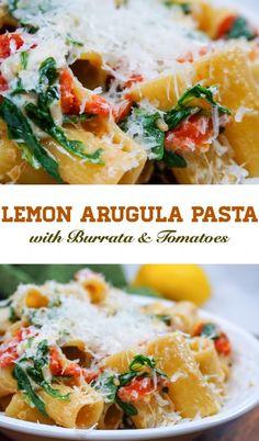 Melty cheese, zesty tomatoes and earthy arugula in 30 minutes!! Ahhhhhhhhhh yummy!