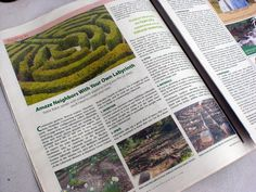 Feature article on labyrinths by @pattie baker for New Life Journal magazine. (Link is bad but article is good.)