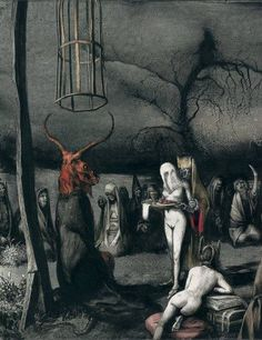 ''Terror y Miseria'' (Terror and Misery) by Santiago Caruso from his Ars Obscura