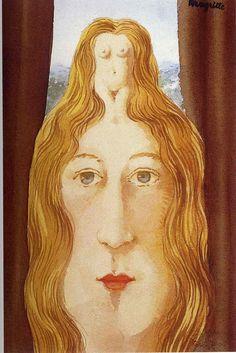 Rene Magritte Painting Rene Magritte  ( 1898 - 1967 ) More At FOSTERGINGER @ Pinterest