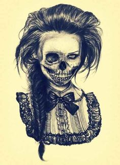 Death skull, love the old country look... Idk if it's ever gonna be tatted on me…