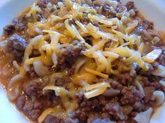 Chili Macaroni Casserole: Gluten-Free Hamburger Helper Style Recipe