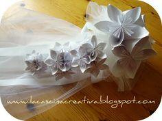 Origami bouquet fiori di carta per la sposa!