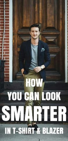 Want to look cool & smart? See these awesome t-shirt and blazer outfits. I am loving all of them and I am sure you'll love them too.