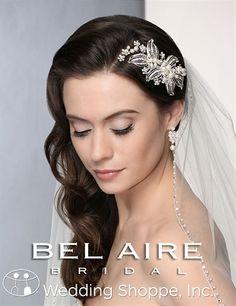 Bel Aire Bridal Headpiece 6355