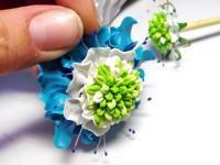 Tutorial für Stäbchen mit Blütenverzierung