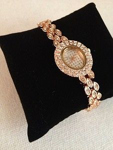 For a limited time only Melody is now available on eBay in auction style!     Don't miss your chance to snag this beautiful watch for a bargain! #Three21    Listing Name: (Melody | Women's Embellished Analog Rose Gold Wrist Watch)