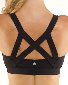 sports bra [ wow. this looks like it would be awesomely supportive & great for working out! I want one of these! ]