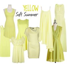 """Soft Summer Yellow"" by colorazione on Polyvore"