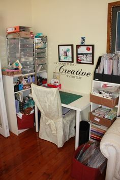Sewing Spaces Sewing And Walk In Closet On Pinterest