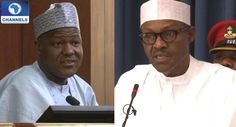 Buhari Meets With Dogara Again - CHANNELS TELEVISION