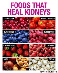 Foods that heal kidneys