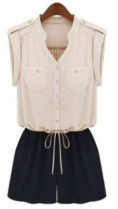 Love this romper. Easy, casual elegance, and so much comfier than a short dress.