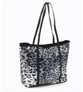 Black & White Animal Print Bag