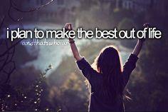 La decisión de ser feliz no está en las manos de nadie más que en las tuyas